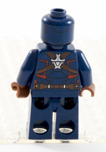 76041 Captain America Back