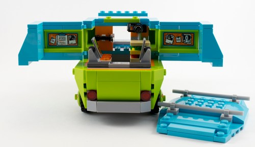 75902 - The Mystery Machine Opened