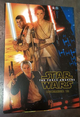 Force Awakens Official Poster