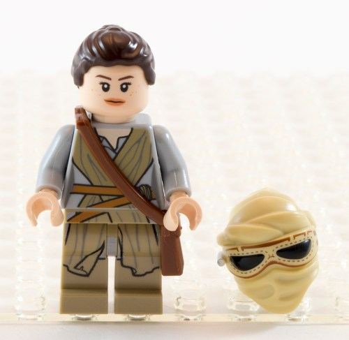 75099 Rey with Hair