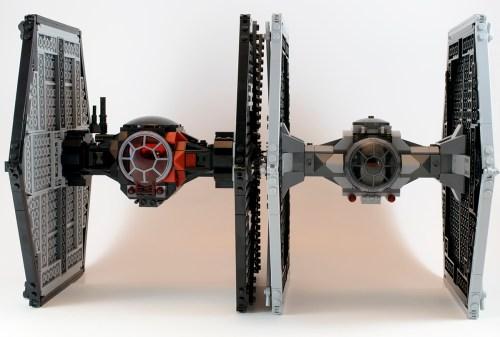 75101 TIE Fighter Comparison