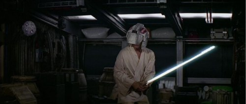 Why would you even keep a helmet like this on a ship like the Falcon?