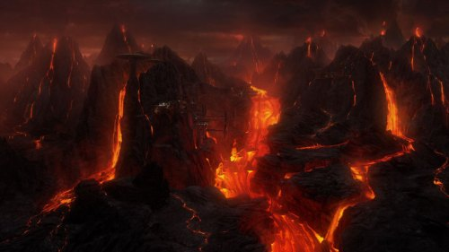 So what makes oxygen in the atmosphere in a place like this? Lava Kelp?
