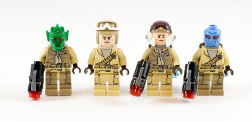 75133 Rebel Alliance Battle Pack Minifigs