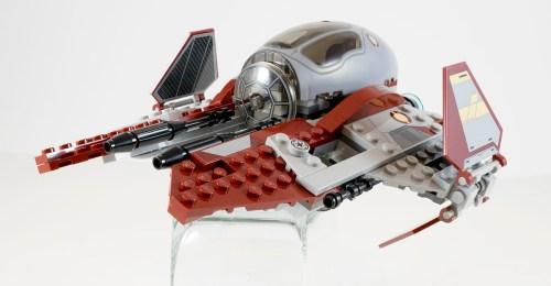 75135 Jedi Interceptor Wings Open