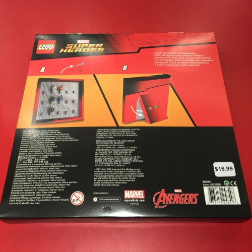 marvel super heroes minifig case frame 2