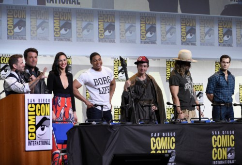As much as I like CW Flash, I can't help but love a kid who dresses up like that for an SDCC panel