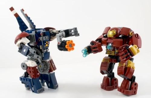 76077 Hammer Mech vs. Hulkbuster