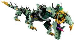 70612 Green Ninja Mech Dragon - 2