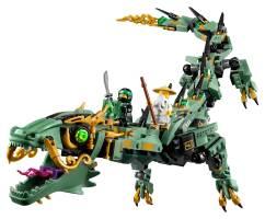 70612 Green Ninja Mech Dragon - 3