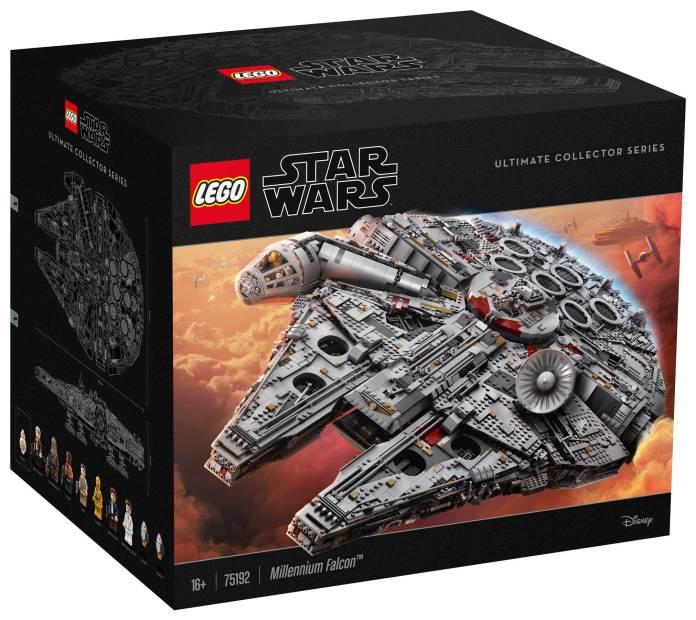 75192 Millennium Falcon box