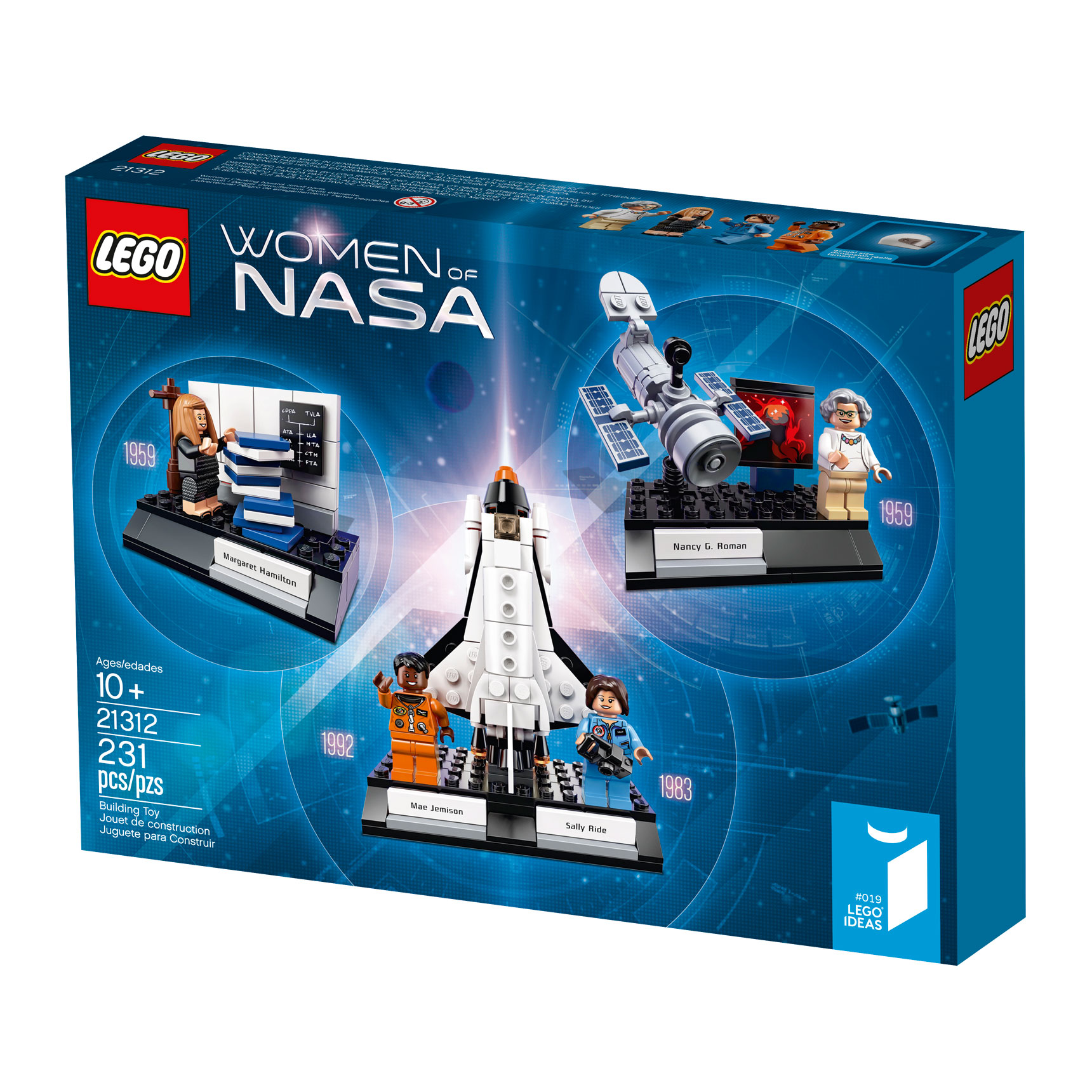 21312 Women of NASA 1-to-1