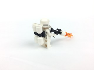 First Order Flametrooper minifig back