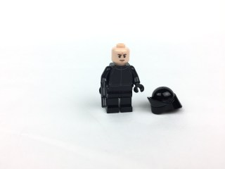 First Order Gunner minifig front without helmet