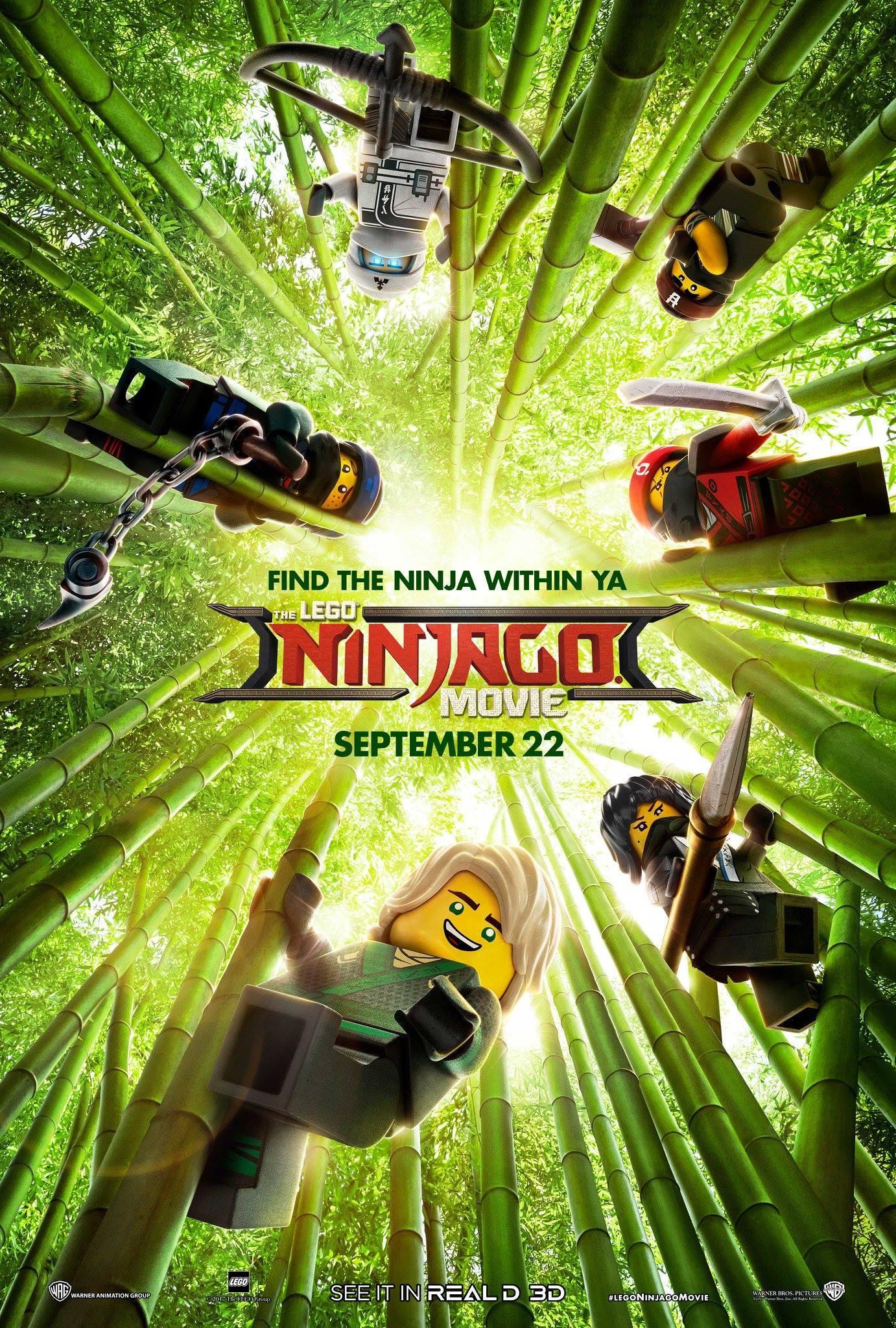The LEGO NINJAGO Movie New Poster