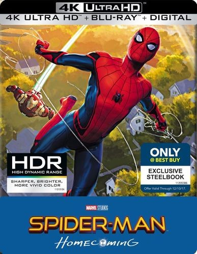 Spider-Man: Homecoming Best Buy exclusive
