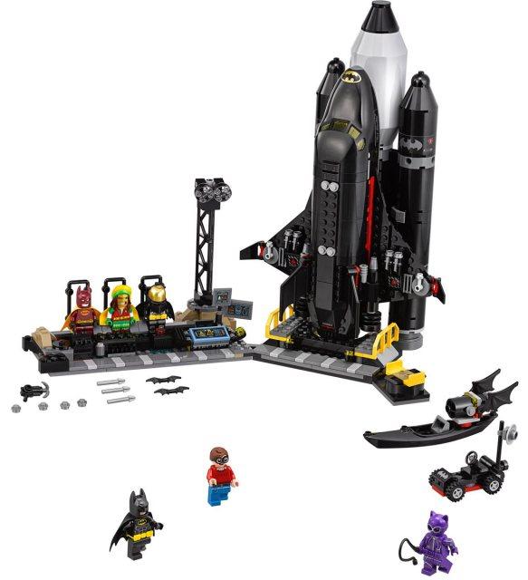 70923 The Bat Space Shuttle