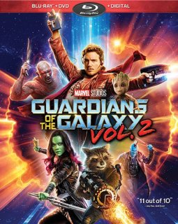 Guardians of the Galaxy Vol. 2 Blu-ray cover