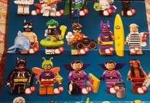 The LEGO Batman Movie CMF Series 2