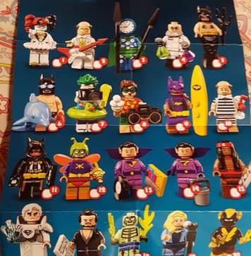The LEGO Batman Movie CMF Series 2