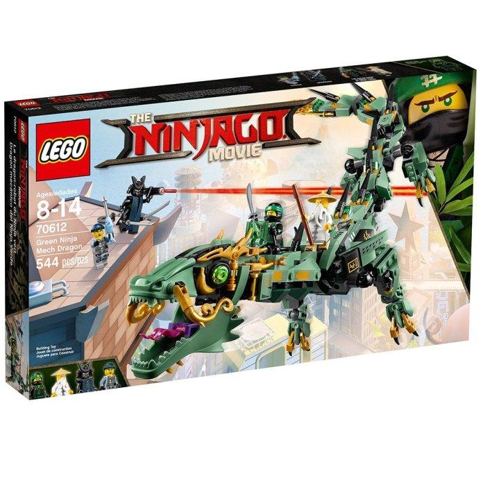 70612 Green Ninja Mech Dragon box image