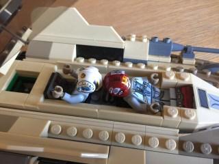 75204 Sandspeeder cramped cockpit