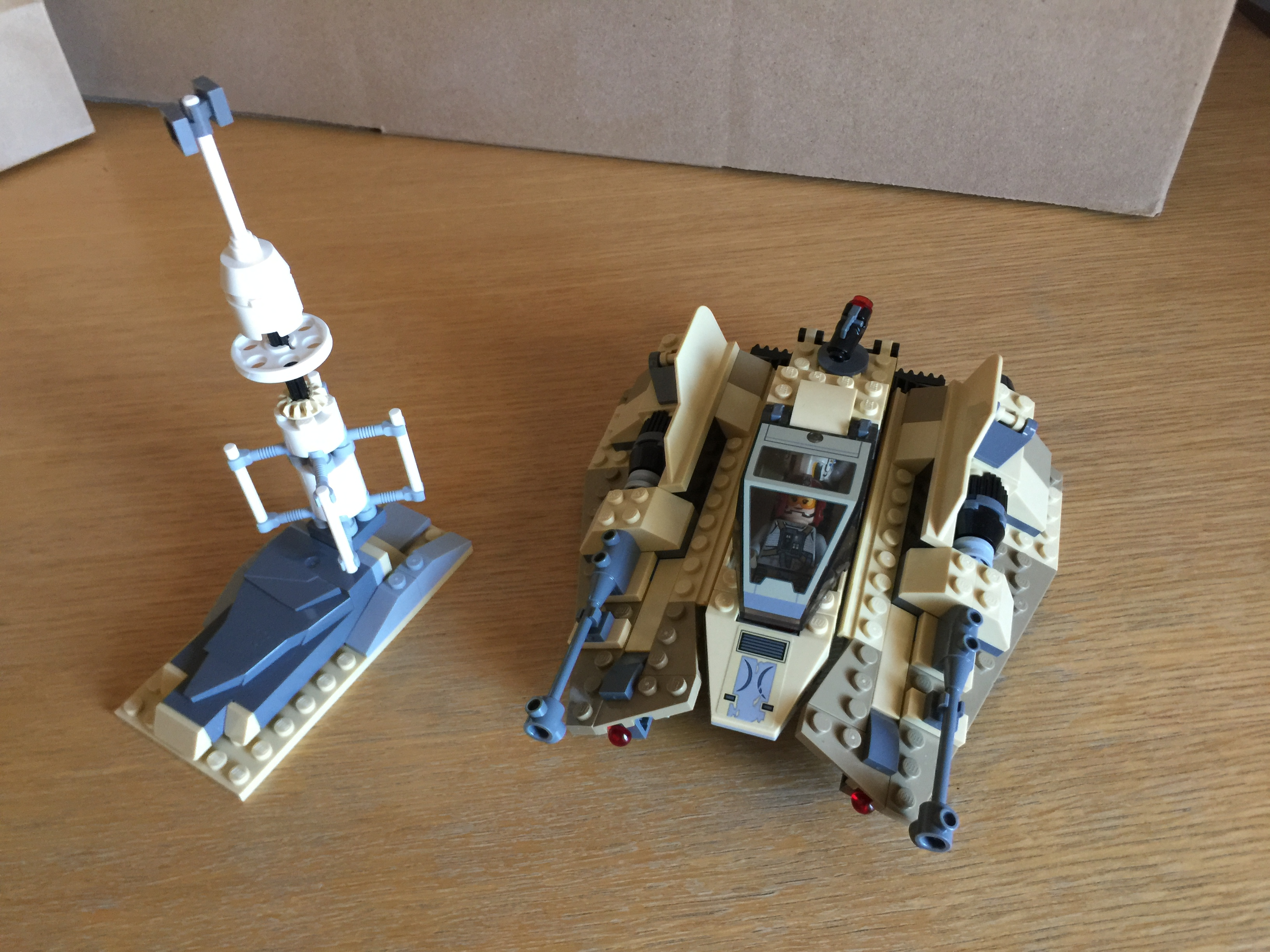 75204 Sandspeeder blaster storage compartment