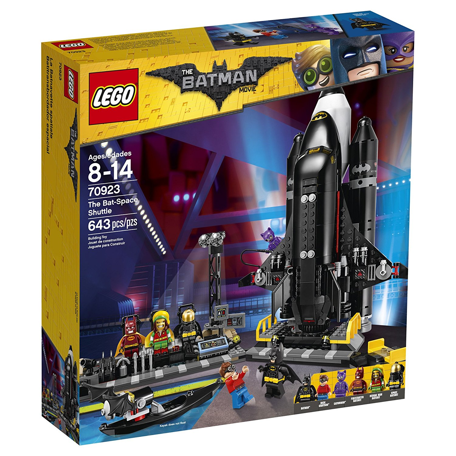 Lego Toys At Walmart : Bat space shuttle and other lego batman movie sets on sale
