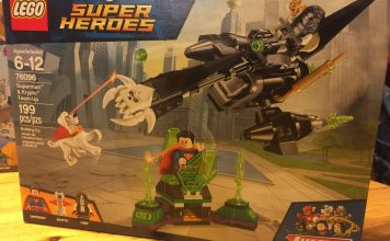 76096 Superman Krypto Team-Up Box