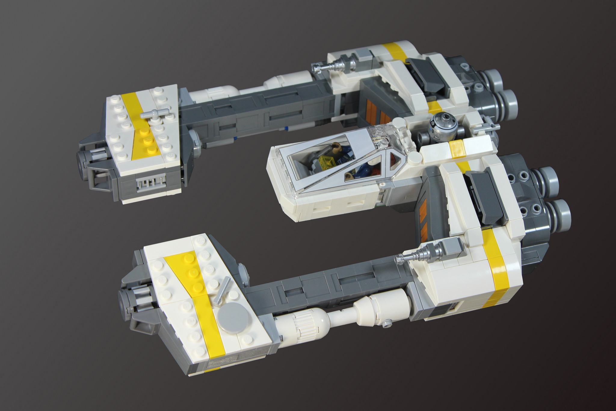 Enth-Wing Starfighter by maedhros1980