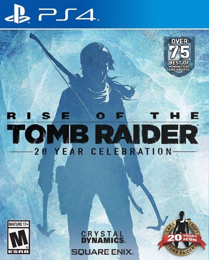Rise of the Tomb Raider PS4 cover art