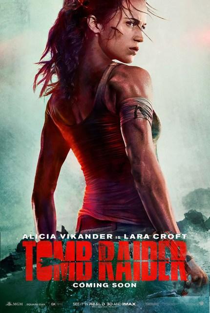 Tomb Raider poster fixed neck