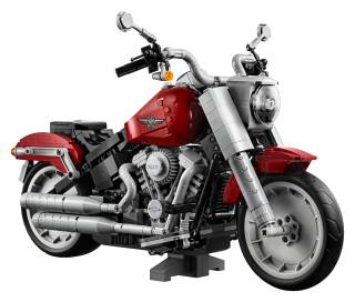 Harley-Davidson Fat Boy LEGO Set 1