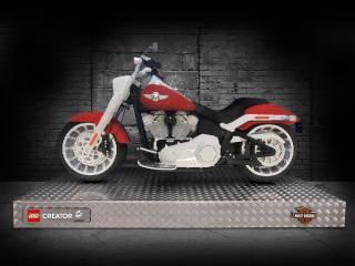 Harley-Davidson Fat Boy LEGO Set 3