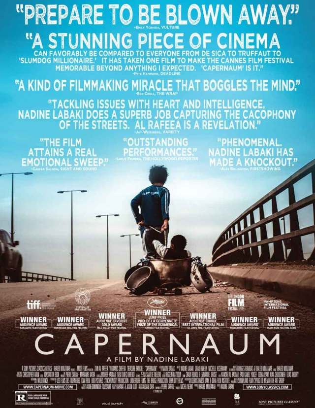 Capernaum movie poster