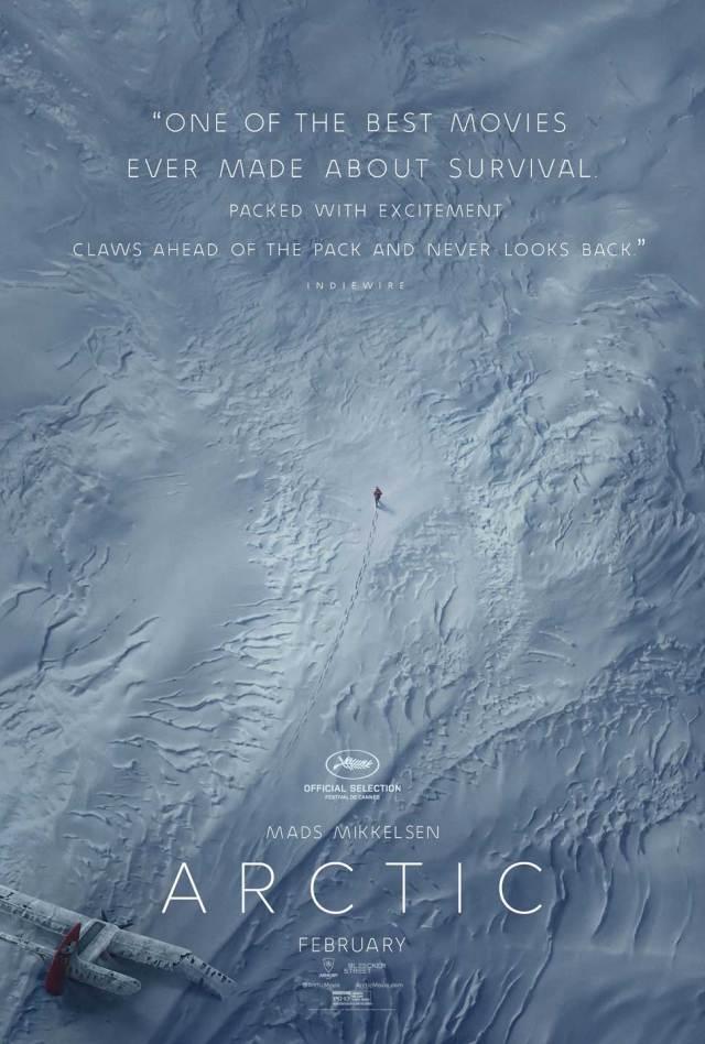 """Arctic"" movie poster"