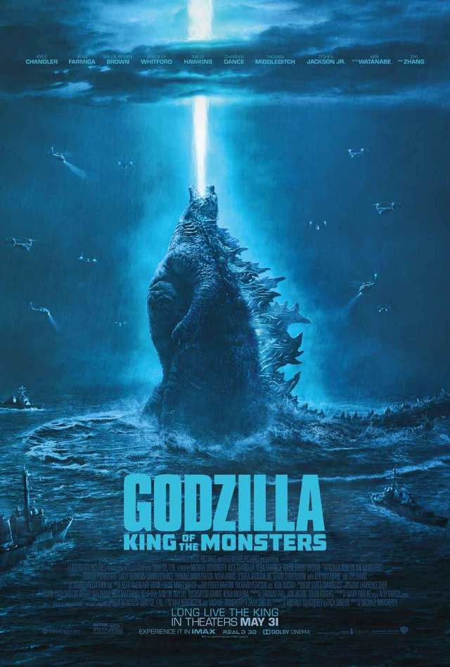 Godzilla King of the Monsters final texted poster
