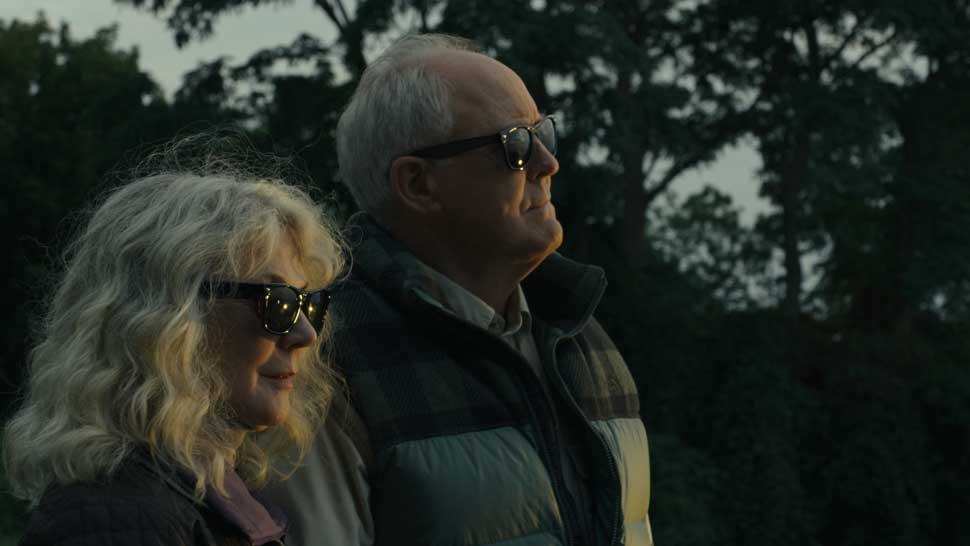 """Blythe Danner and John Lithgow in """"The Tomorrow Man"""" from Bleecker Street. PHOTO CREDIT: courtesy of Bleecker Street"""