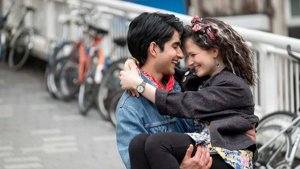 (L-r) VIVEIK KALRA as Javed and NELL WILLIAMS as Eliza in New Line Cinema's inspirational drama BLINDED BY THE LIGHT, a Warner Bros. Pictures release.
