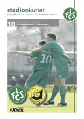 10 Stadionkurier  FCS vs FC Niederlamitz