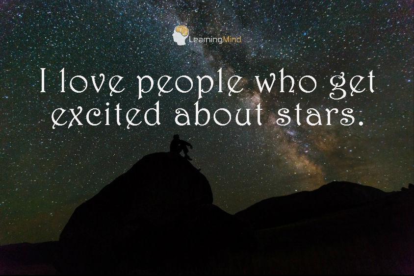 我 喜欢 那些 兴奋 的 明星