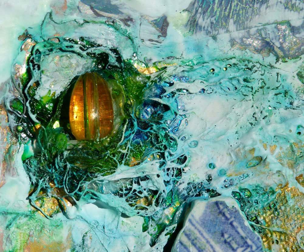Pauline McGee, 'Peace Token to the Ocean', detail