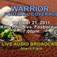 Foxboro Warrior Football vs. King Philip