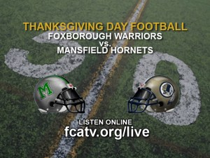 Foxboro vs. Mansfield Thanksgiving Day Football