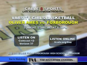 Varsity Girls Basketball Oliver Ames vs. Foxborough Warriors