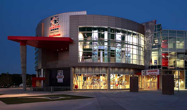 d0e9089c3 Veterans and active military are invited to enjoy a free visit to The Hall  at Patriot Place presented by Raytheon over Memorial Day weekend.