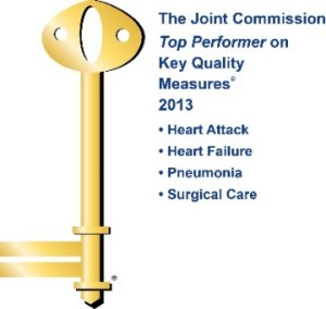 Top Performers on Key Quality Measures® by The Joint Commission