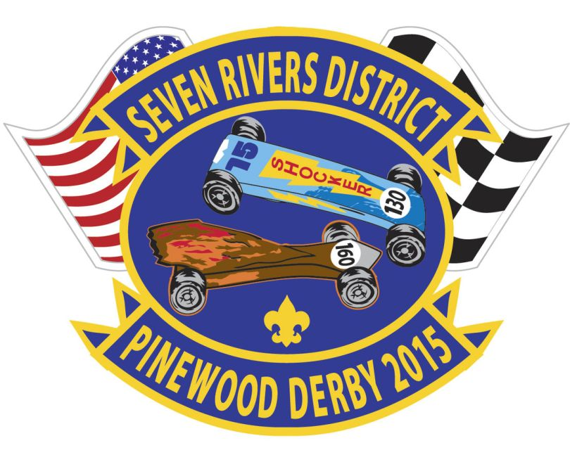2015 Seven Rivers District Pinewood Derby