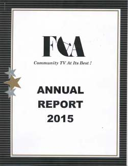 FCA Annual Report Cover