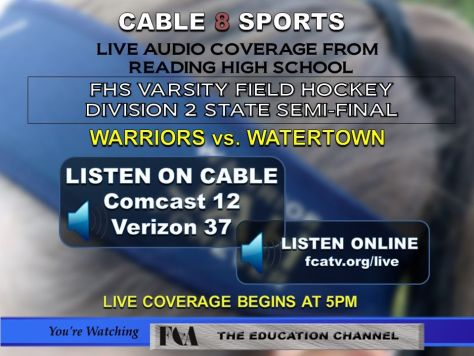 Live Audio of Field Hockey Tournament Game